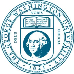 The official George Washington University seal.