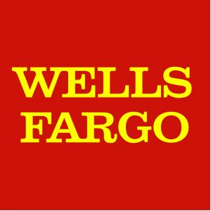The corporate-logo for Wells-Fargo.