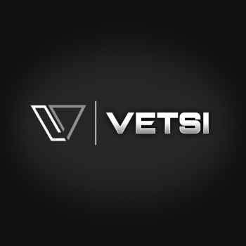The logo for the VETSI initiative: a 501c3 non-profit in cooperation with Bucephalus Web Development, Wells-Fargo and The George Washington University.