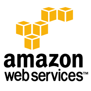 The official logo for Amazon Web Services.