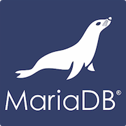 The official logo of MariaDB.