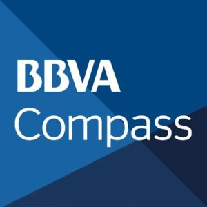 The BBVA Compass corporate logo.